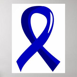 Awareness Ribbon 3 Histiocytosis Posters