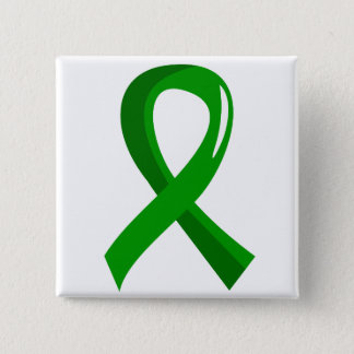 Awareness Ribbon 3 Traumatic Brain Injury TBI 15 Cm Square Badge