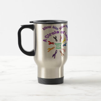 Awareness Ribbon Products Stainless Steel Travel Mug