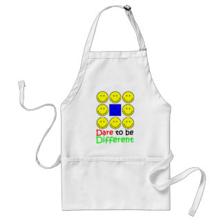 Awareness tee Dare to be Different copy Standard Apron
