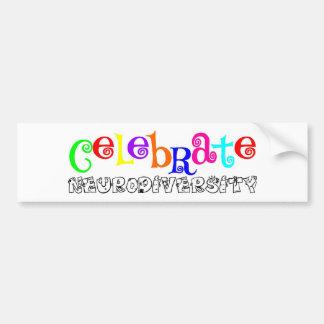 Awareness tee neurodiversity bumper sticker