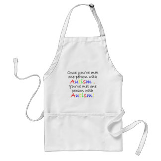 Awareness tee One Person Standard Apron