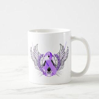 Awareness Tribal Purple Mugs