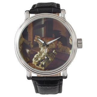Away in a Manger Wrist Watch