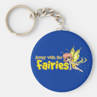 Away with the fairies key ring