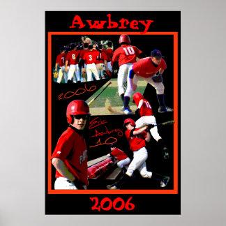 Awbrey Freshman Baseball Poster