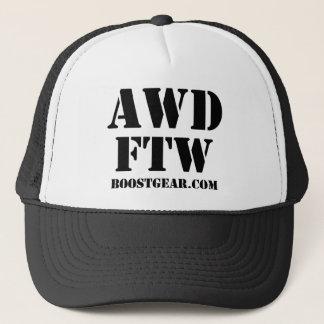 AWD - FTW Trucker Hat by BoostGear.com