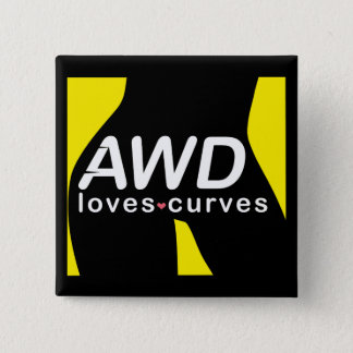 AWD Loves Curves Yellow Button