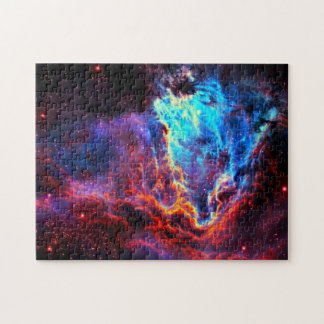 Awe-Inspiring Color Composite Star Nebula Jigsaw Puzzle