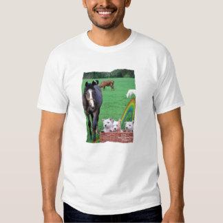 Awe Inspiring Westies & Scenic Ireland Pasture T-shirts