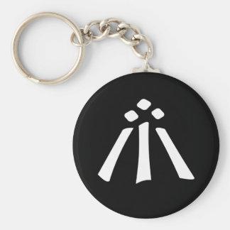Awen Basic Round Button Key Ring