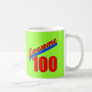 Awesome 100 Awesome at 100 Years Old Basic White Mug