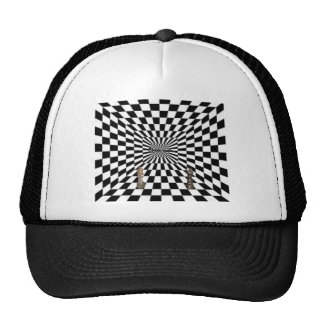 Awesome 3d looking design! trucker hat