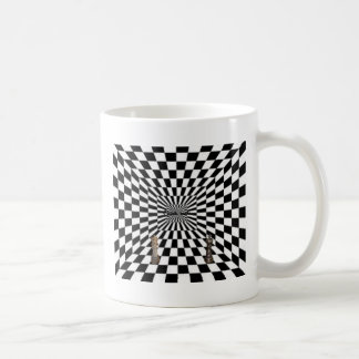 Awesome 3d looking design! coffee mugs