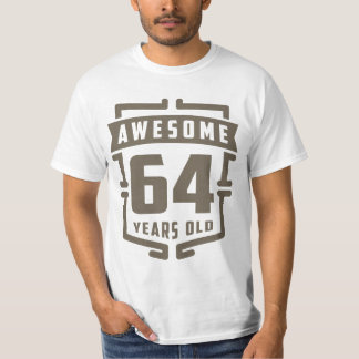 Awesome 64 Years Old T-Shirt