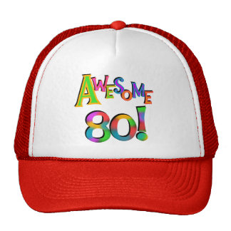 Awesome 80 Birthday T-shirts and Gifts Trucker Hat