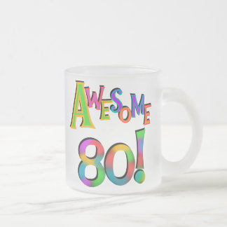 Awesome 80 Birthday T-shirts and Gifts Coffee Mug