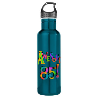 Awesome 85 Birthday T-shirts and 710 Ml Water Bottle