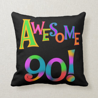 Awesome 90 Birthday T-shirts and Gifs Cushion