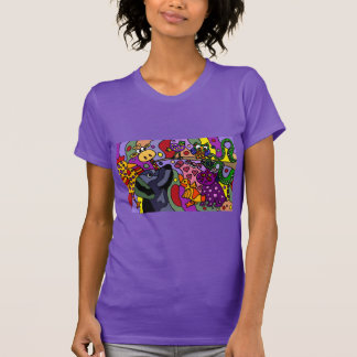 Awesome Abstract Animals Art T-Shirt
