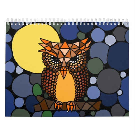 Awesome Abstract Art Calendar