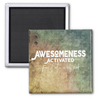 Awesome Activated - Green Magnet