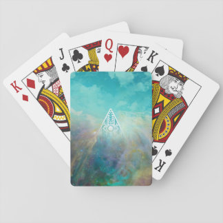 "Awesome ""All seeing eye"" triangle Orion nebula Playing Cards"