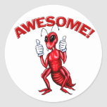 Awesome Ant Classic Round Sticker