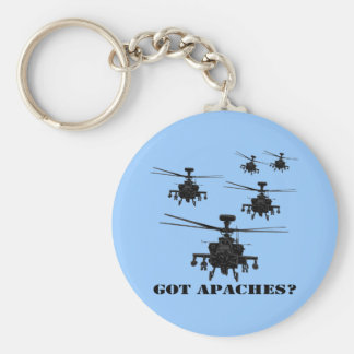 Awesome Apache helicopter Key Ring