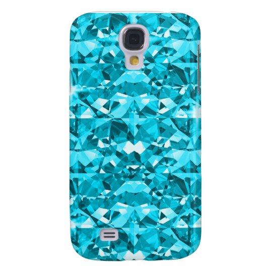 Awesome Aqua Diamond Galaxy S4 Case