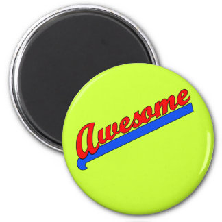 Awesome at Any Age! Customise This 6 Cm Round Magnet