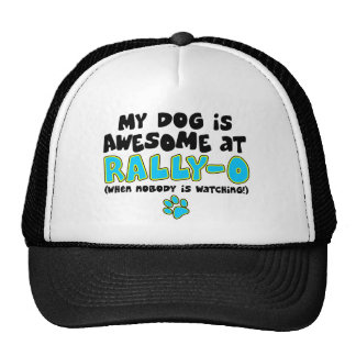 Awesome at Rally-O Trucker Hat