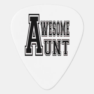 Awesome Aunt Design Plectrum