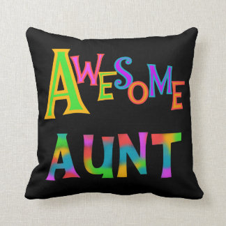 Awesome Aunt T-shirts and Gifts Cushion