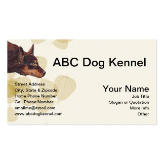 Awesome Australian Red Kelpie Pack Of Standard Business Cards
