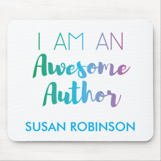 Awesome Author | Brush Typography | Mousepad