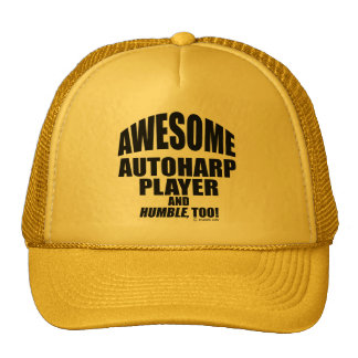 Awesome Autoharp Player Mesh Hats