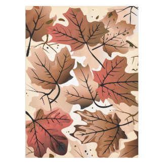 Awesome Autumn Forest Floor Tablecloth
