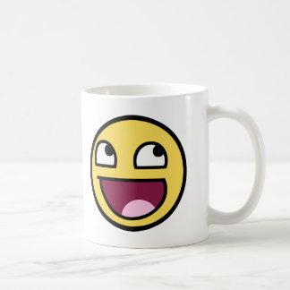 awesome /b/ smiley face coffee mug