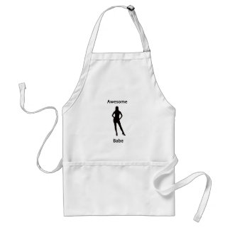 awesome babe apron