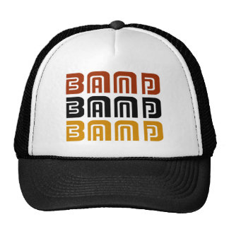 Awesome Band Trio Music Gift Mesh Hat