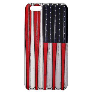 awesome baseball bat american flag phone case cover for iPhone 5C