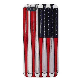 awesome baseball bat american flag phone case iPhone 5 cover