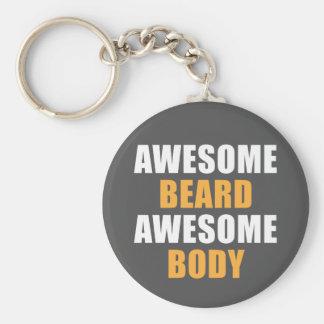 Awesome Beard Awesome Body Key Ring