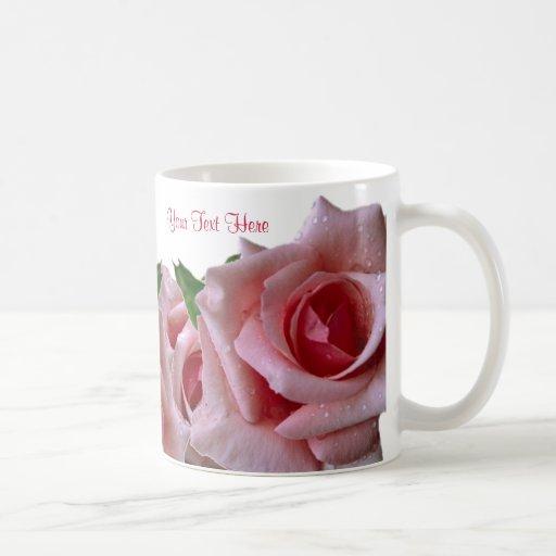 Awesome Beautiful Pink Rose Design Mugs