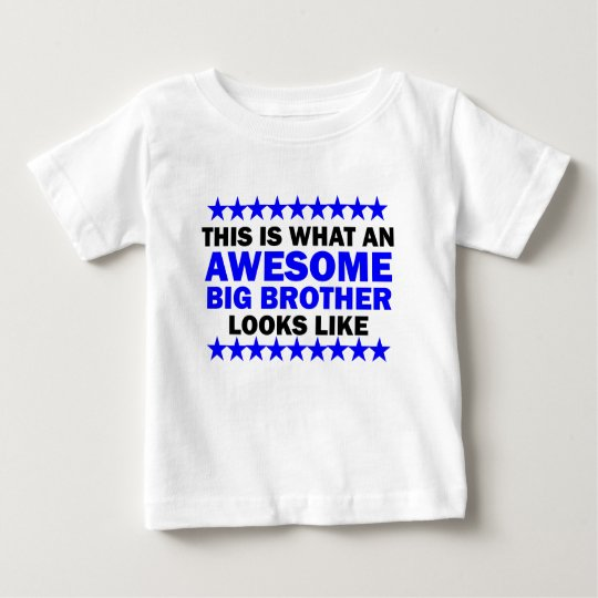 Awesome Big Brother Baby T-Shirt