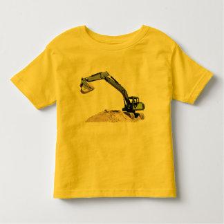 Awesome Big Green Construction Excavator #4 Tshirts