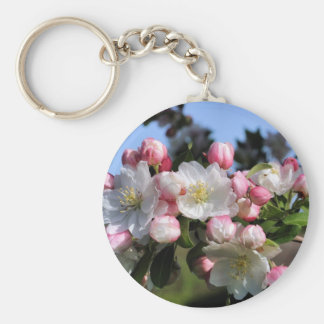 Awesome Blossoms Flower Photo Keychain