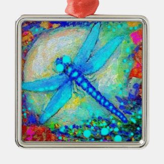 Awesome Blue Dragonfly by Sharles Christmas Ornament