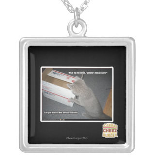 Awesome Box Silver Plated Necklace